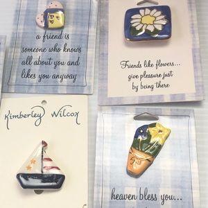 Ceramic Pins Bundle🌺3/$20  Friendship Gift